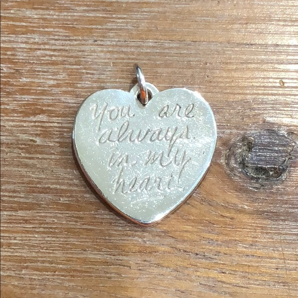 6f6bf17eec906 James Avery You Are Always in My Heart Charm
